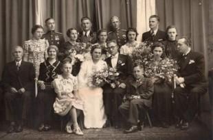 Ignas ir Birutė Simonaičiai 1937 m.  Kaunas